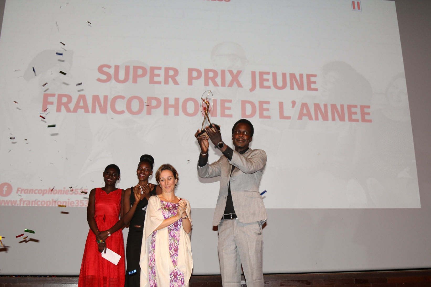 Cérémonie Francophonie 35